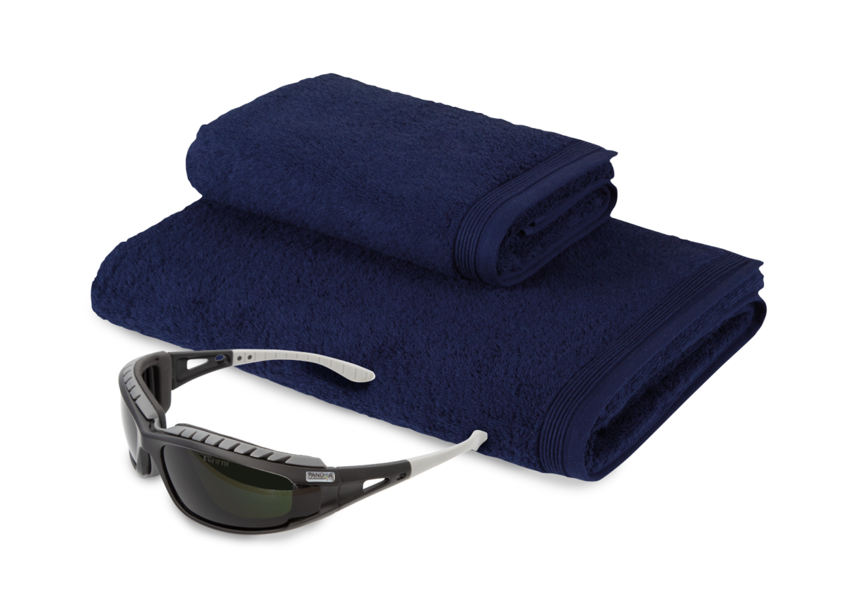 PANDIIIA<sup>®</sup> Light Towel-Serie plus PANDIIIA<sup>®</sup> Glasses