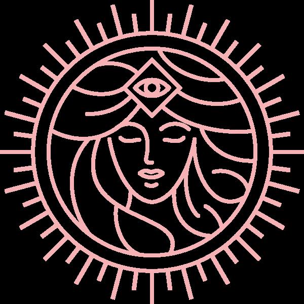 Göttin Pandia Emblem