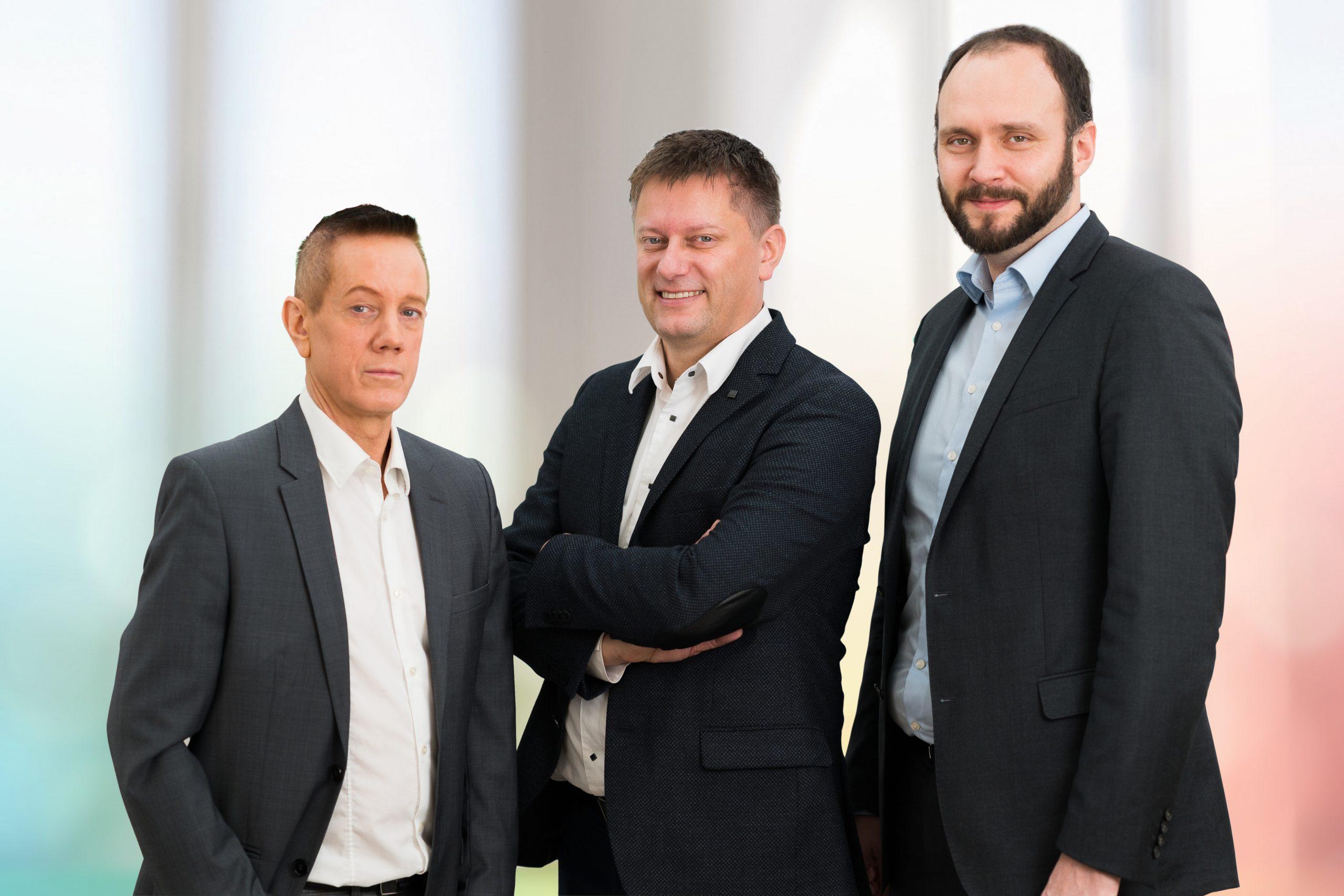 Geschäftsführer RP MEDICS GmbH Reinald Pasedag, Roland Pasedag, Andreas Hainz